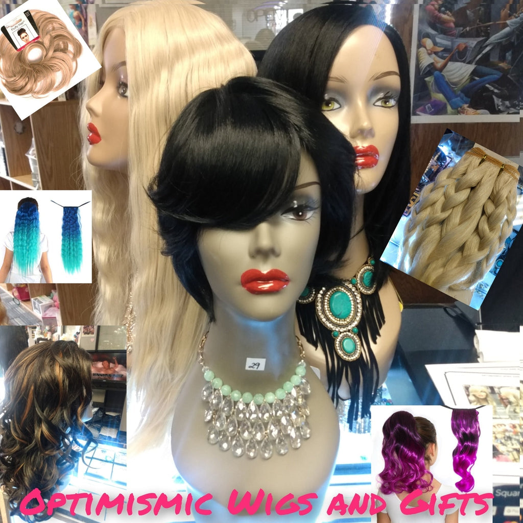 Lace Front Wigs, Synthetic Wigs, Human Wigs, and Hair Gifts