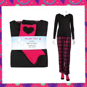 Women's 3pc Pajamas
