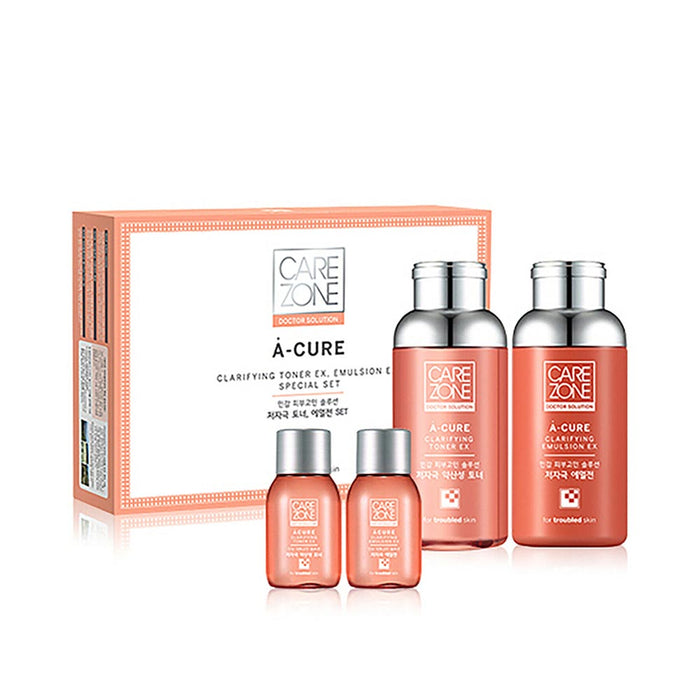 CAREZONE Doctor Solution A-Cure Clarifying Skin Care Set