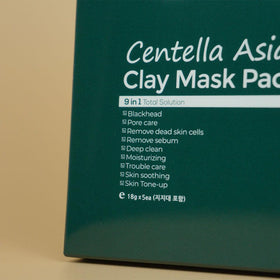 HC LAB's Centella Asiatica Clay Mask (18g*5 sheets)