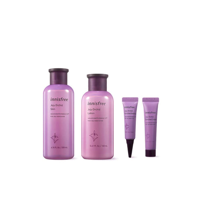 INNISFREE Jeju Orchid Skin Care Set