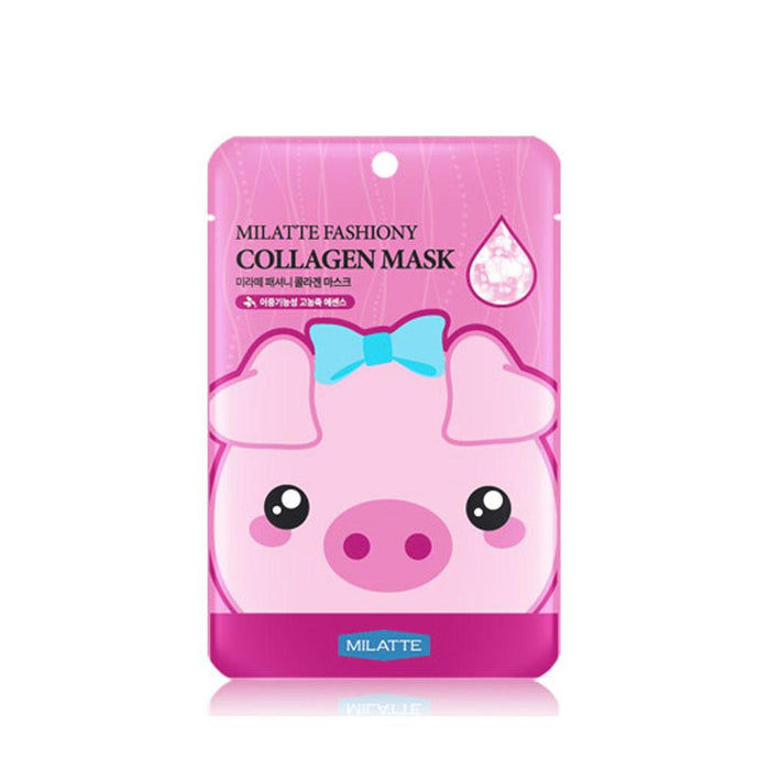 MILATTE Fashiony Collagen Mask Sheet 1 Set (10ea)