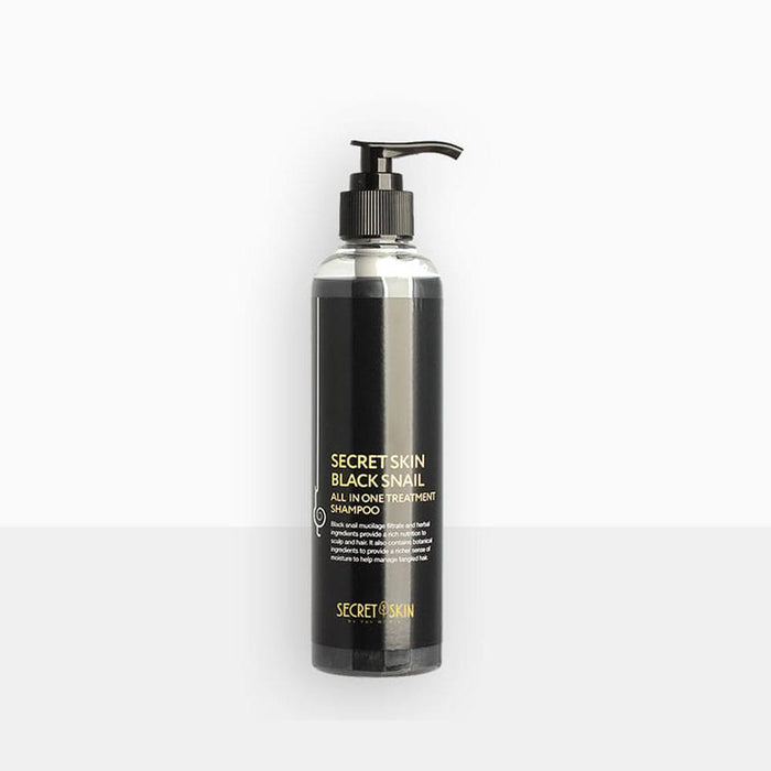 SECRETSKIN Black Snail All In One Treatment Shampoo 250ml