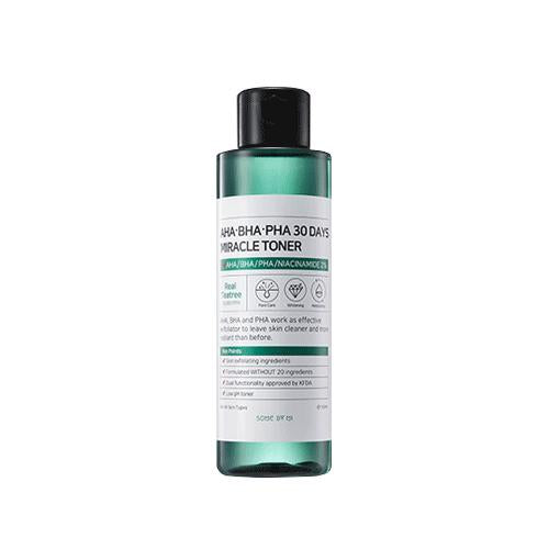 SOME BY MI AHA BHA PHA 30 Days Miracle Toner 150ml - TheSimpleNavy | Korean Cosmetics Online Beauty shop