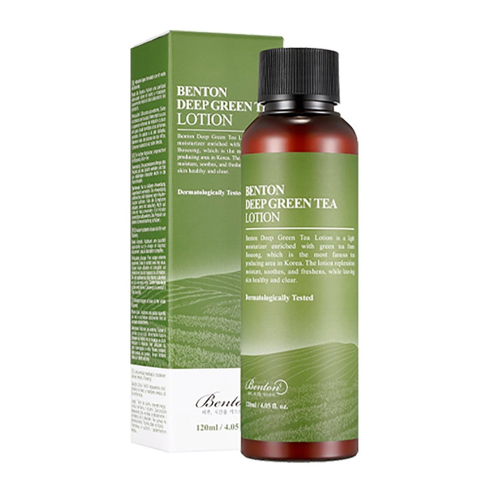 BENTON Deep Green Tea Lotion 120ml