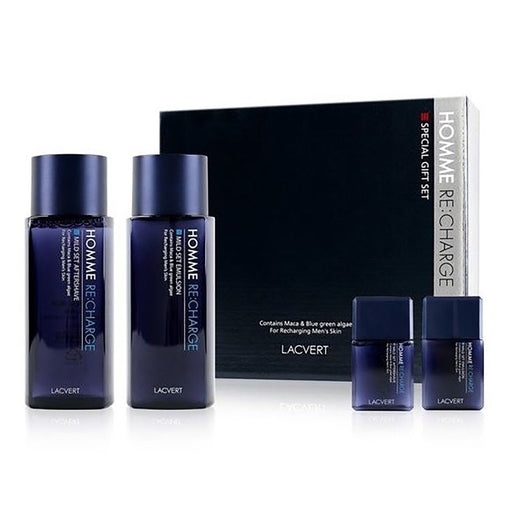 LACVERT Homme Re:Charge Skin Care Special Set - TheSimpleNavy