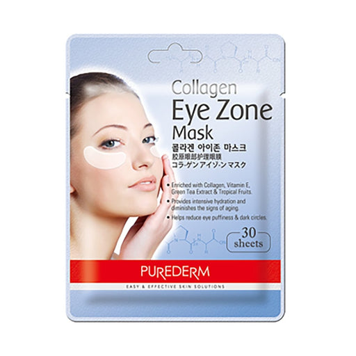 PUREDERM Collagen Eye Zone Mask 30 Sheets - TheSimpleNavy