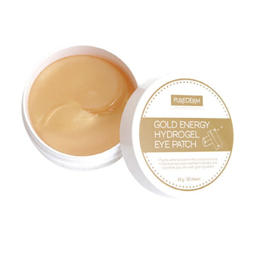 PUREDERM Gold Energy Hydrogel Eye Patch 60 Sheets - TheSimpleNavy
