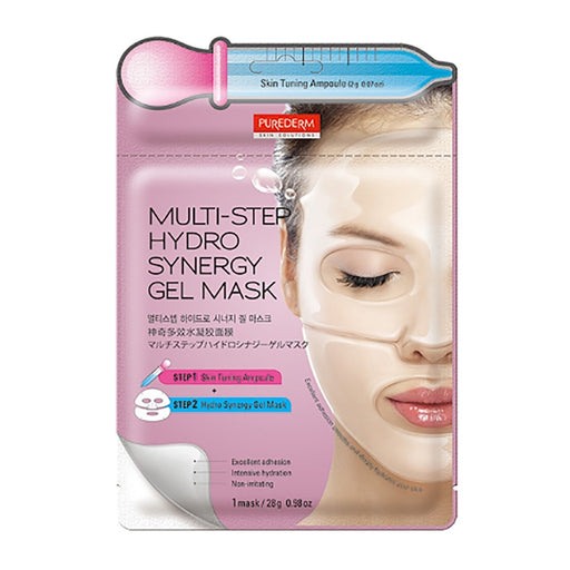 PUREDERM Multi-Step Hydro Synergy Gel Mask 28g - TheSimpleNavy