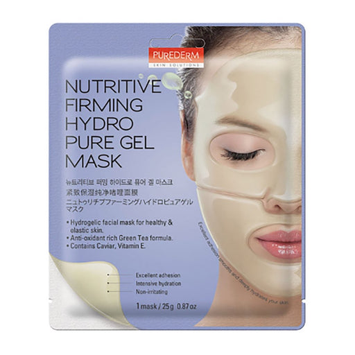 PUREDERM Nutritive Firming Hydro Pure Gel Mask 25g - TheSimpleNavy