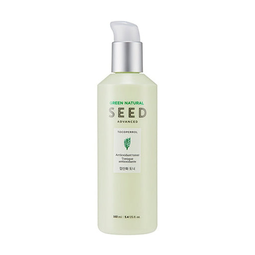 THE FACE SHOP Green Natural Seed Antioxidant Toner 160ml - EnterTheBeauty