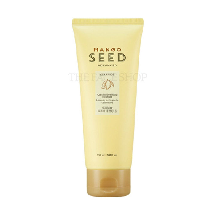 THE FACE SHOP Mango Seed Creamy Foaming Cleanser 150ml - EnterTheBeauty