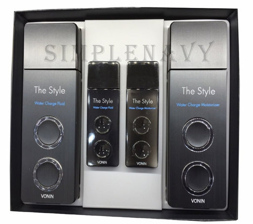 VONIN The Style Water Charge Skin Care Set For Dry Skin Type - TheSimpleNavy
