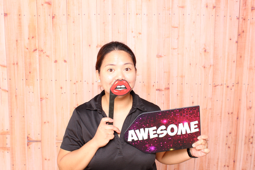Lips Stick PVC Photo BoothProps