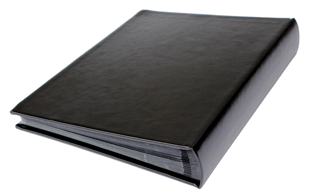 4x6 BLACK Slip-in Album with Keepsake Box