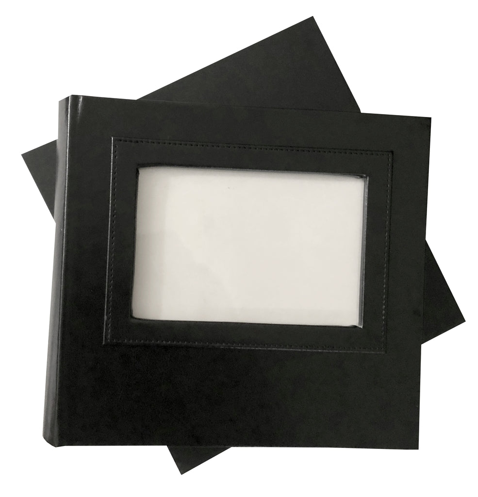 BULK (Pack of 10 PCS) BLACK Slip-in Photo Booth Album 4x6 Photos Box Included