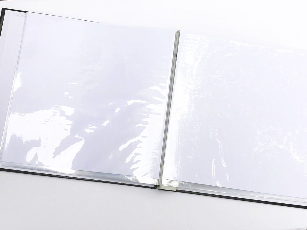 BULK 12X12 Black Scrapbook Album - ALBUM ONLY (case of 10)