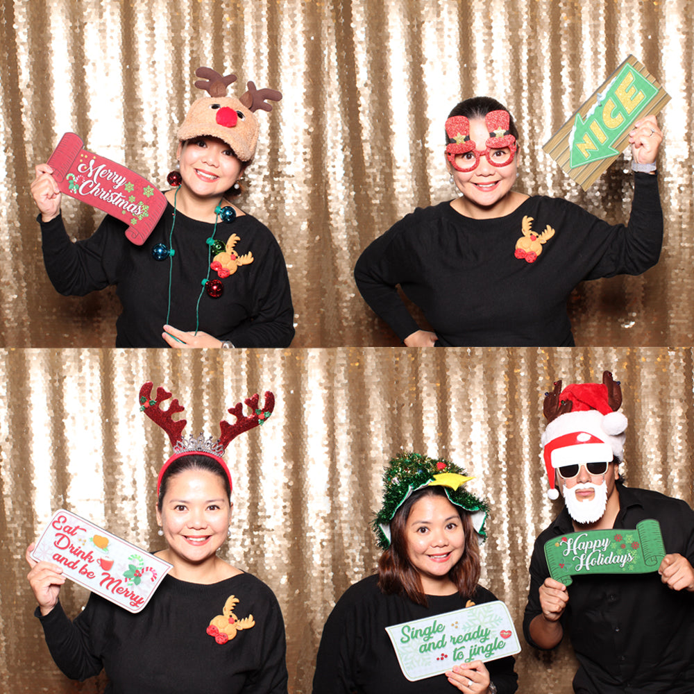 Holiday Party PVC Photo Booth Props