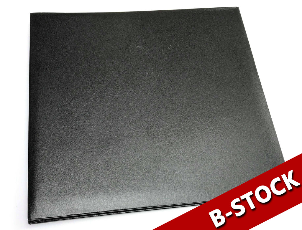 B-STOCK 12X12 Black Scrapbook - ALBUM ONLY