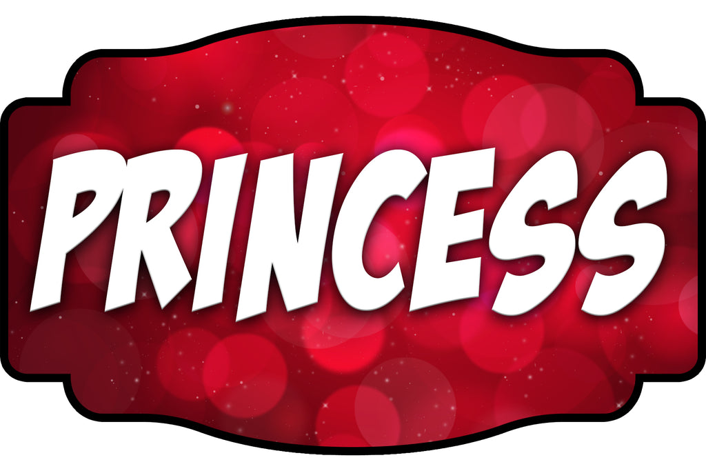Princess Oversize Prop Double-Sided