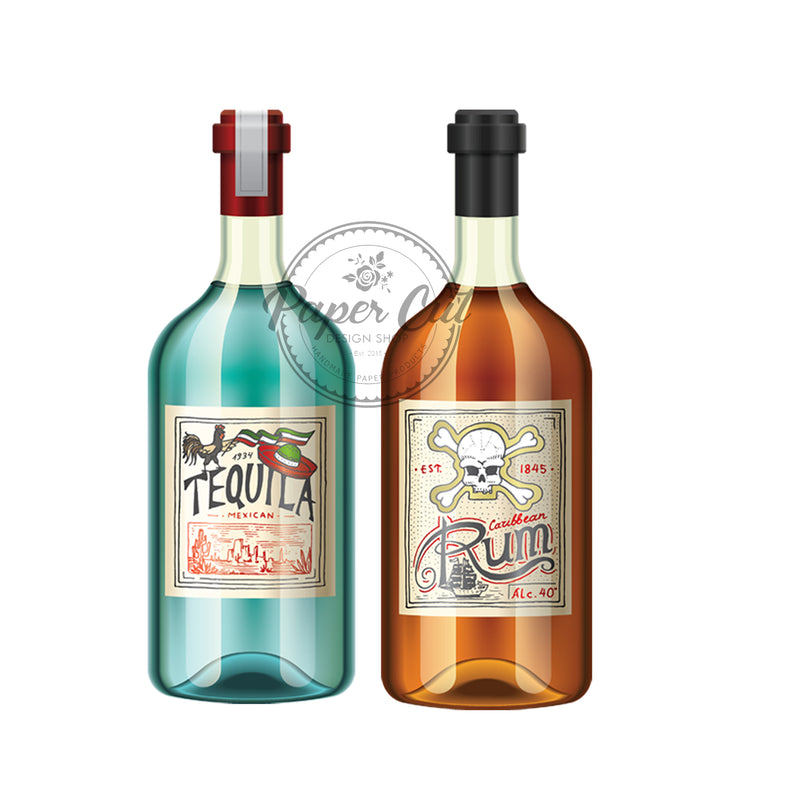 Tequila/Rum Prop Double-Sided