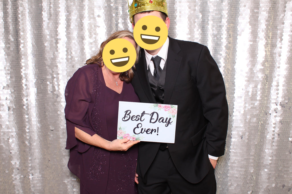 OVERSIZED Wedding PVC Photo Booth Props