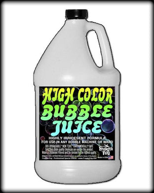 Froggys Fog - HIGH COLOR Bubble Juice - Strong Long Lasting