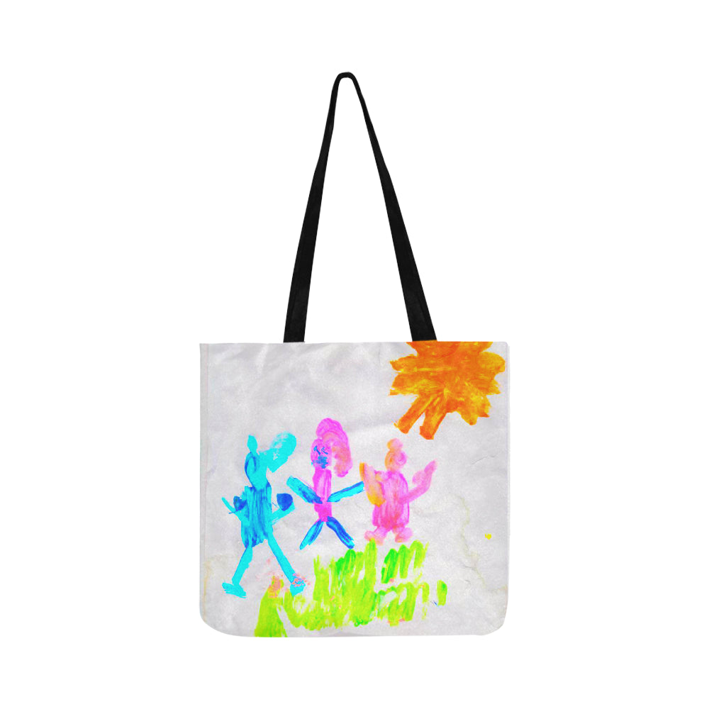 Family Reusable Shopping Bag (Two sides) -  Autastic Shop of Wonders