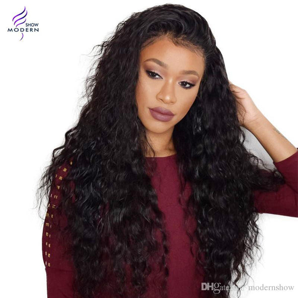 Peruvian Virgin Human Hair Weave Natural Water Wave 4 Bundle Peruvian Virgin Hair Weave Extensions