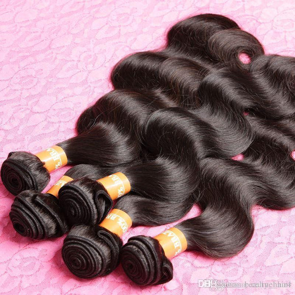 Unprocessed  Hair natural Weave 1Pcs  Top Hair Extensions