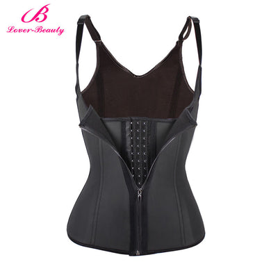 Beauty Waist Trainer Vest Latex Corset Slimming Chest Binder Shapewear