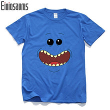 Rick And Morty Mr. Meeseeks With Short Sleeves T Shirt