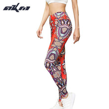 2017 New 3D Italia Clothes Slim Pants Women Leggings Fitness trousers