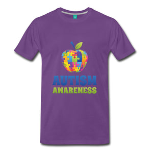 Autism Awareness Puzzle Men's T-Shirt Top Quality Hot 2017 Fashion -  Autastic Shop of Wonders