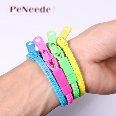 10pcs/set Zipper Bracelet Fidget Products Toy