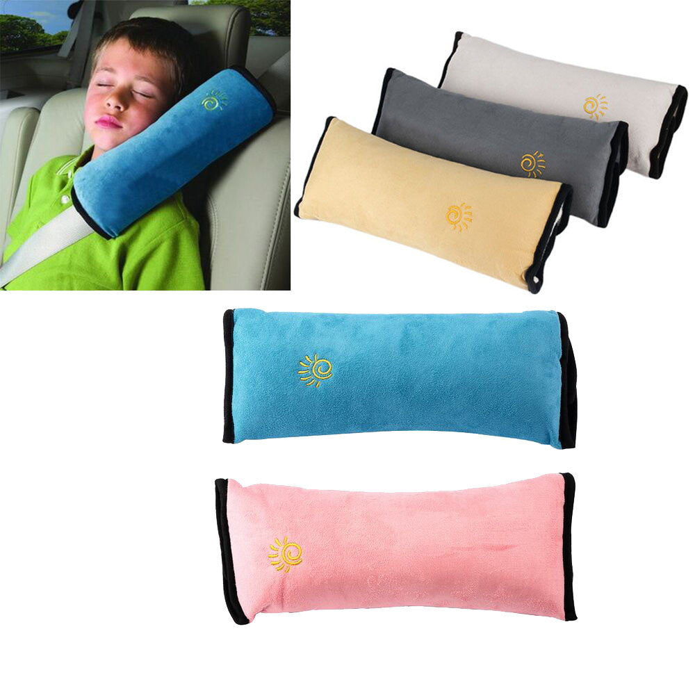 New Baby Car Auto Safety Seat Belt Harness Shoulder Pad Cover  & Pillow -  Autastic Shop of Wonders