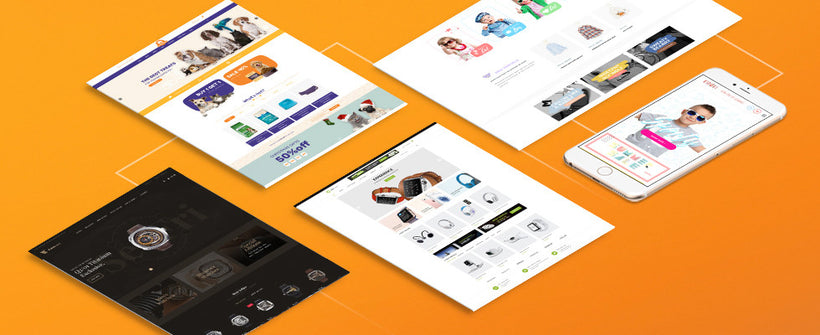Introducing 5 best Shopify free themes from SalesHunter Team