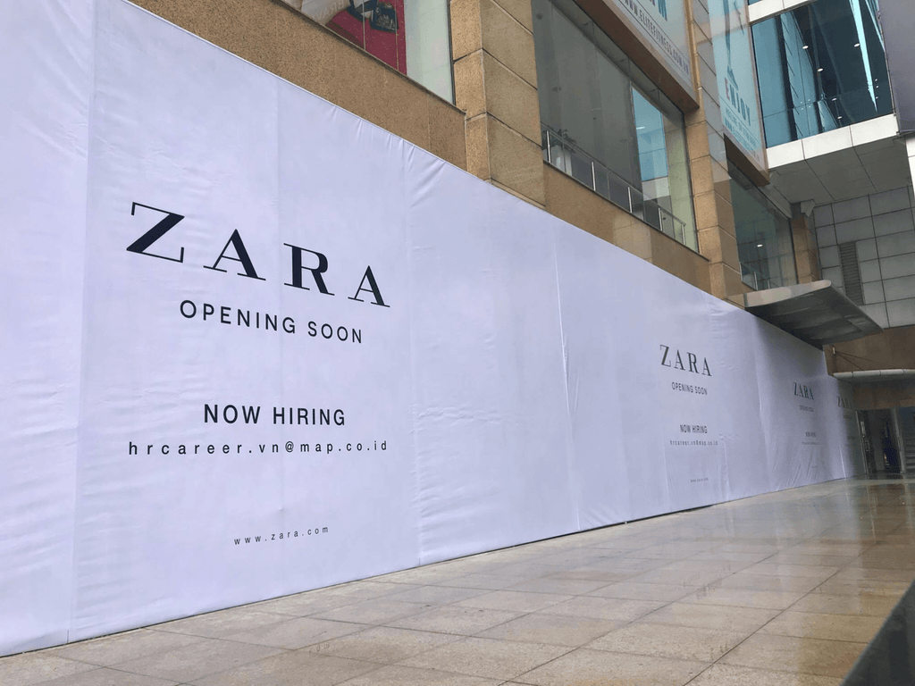 zara is opening store in hanoi