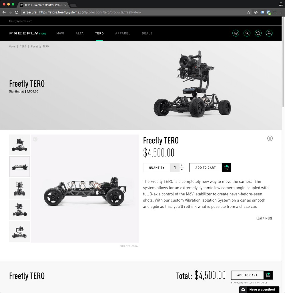 freeflysystems product page