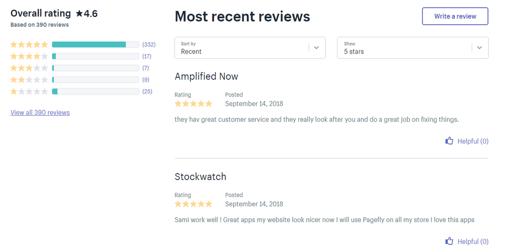 PageFly Customer Reviews