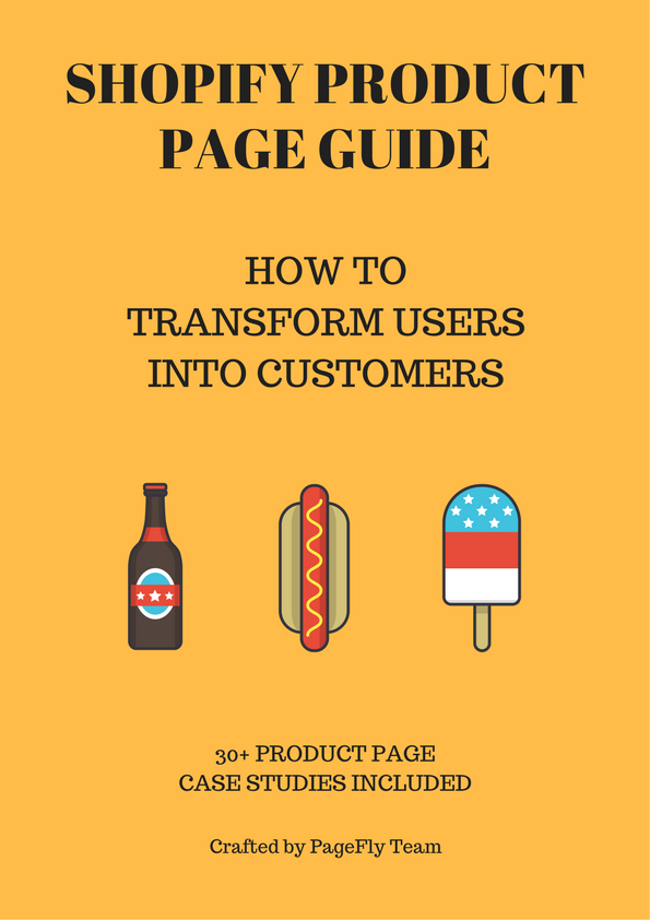 Product page guide ebook