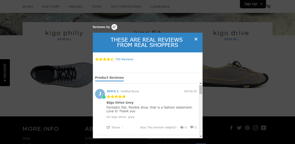 kigo customer reviews
