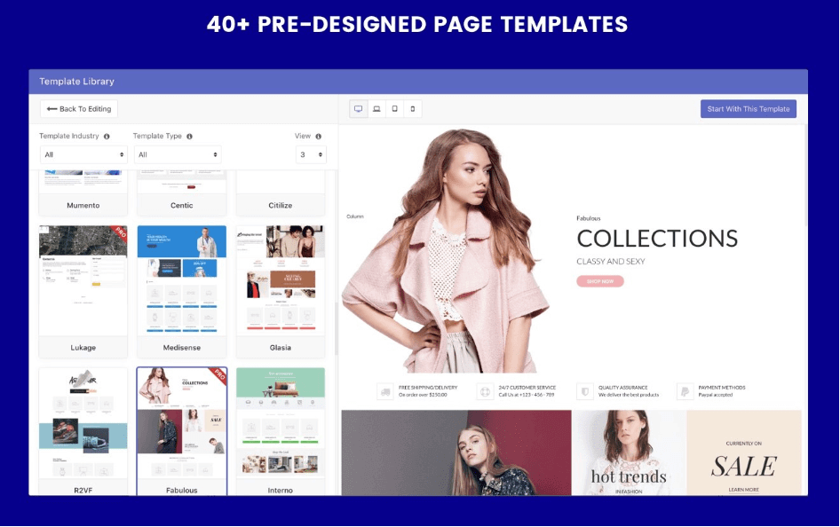 PageFly 40 Templates