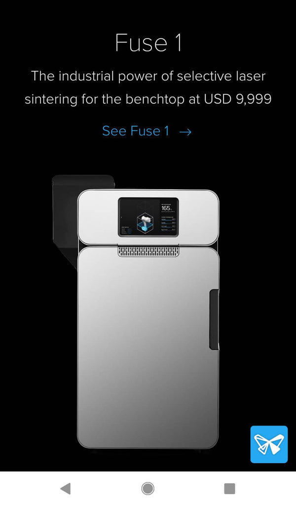 FormLabs mobile site