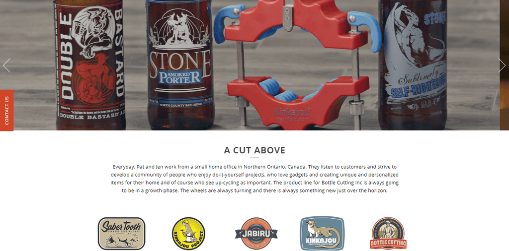 Bottle Cutting Home Page