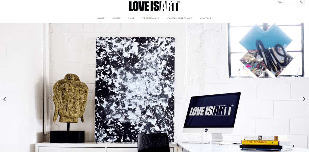 Love Is Art Home Page