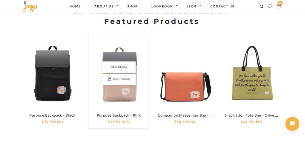 Joggo Bags Hover Over product