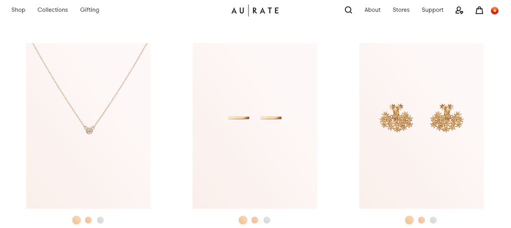AUrate Collection Page