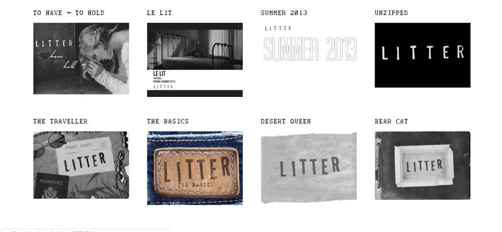 LITTER Lookbook