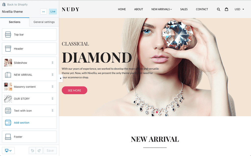 nivellia-shopify-theme-nudy-style-sections
